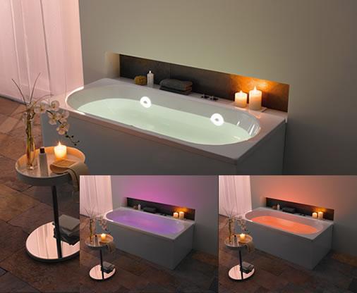 koupel se svetly